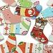 Kerstsok Decoratie 30 Stuks
