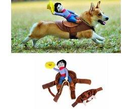 Cowboy Kostuum Voor Een Hond