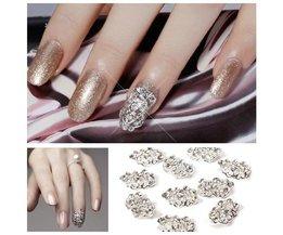 Metalen Steentjes voor Nagels (10 stuks)