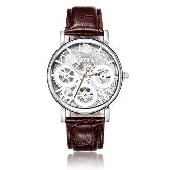 Horloge Zichtbaar Uurwerk Unisex