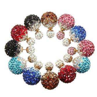 Bijzondere Oorbellen met Kunstkristallen