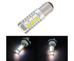 Knipperlicht LED Lamp 1157 5730 22-SMD 20-LED Wit/Geel
