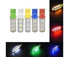 T10 W5W LED Autolampje 5050 13-SMD