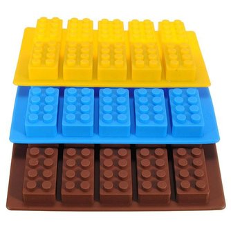 Siliconen IJsblokjesvormen (3 Stuks)