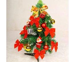 Mini Kunstkerstboom Met Versieringen