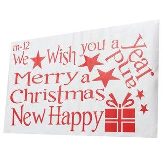 Kerst Sticker Kertsboom