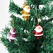 Kerstman Decoratie Hangers 6 Stuks