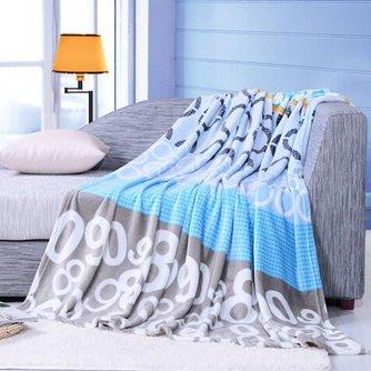 Flanellen Quilt voor over je Bed 150x200CM