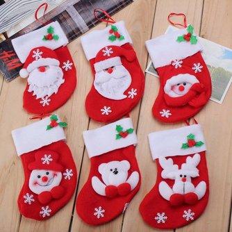 Kerstokjes Voor Bestek 6 Stuks