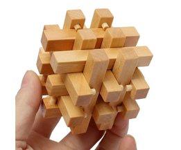 Puzzel 3D Hout