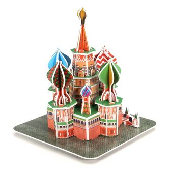 3 D Puzzel ST Basil's Cathedral