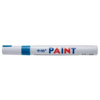 Markeer Stiften Blauw 12 Stuks
