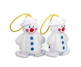 Leuke Draadloze Sneeuwman Babyfoon Set