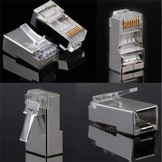 Ethernet Plugs 100 Stuks