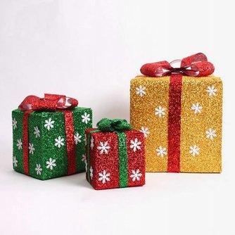 Gift Box Met LED Verlichting In Verschillende Kleuren En Maten