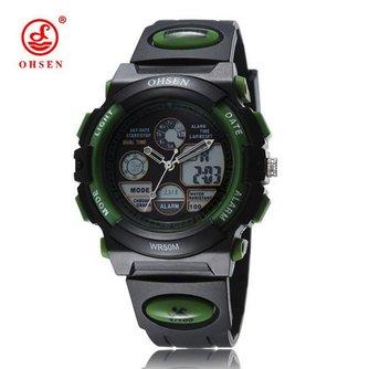 Digitaal Analoog Horloge LED Unisex