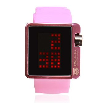 TVG LED Watch Siliconen