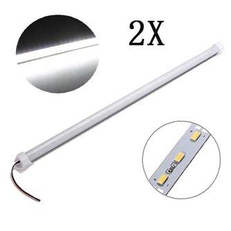 Waterdichte LED Strip 50CM 2 Stuks