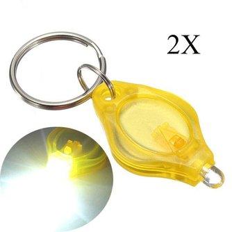 Sleutelhanger Met LED Lampje