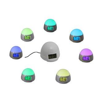 Wekker Met LED Lamp