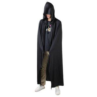 Zwarte Dood Cape voor Halloween