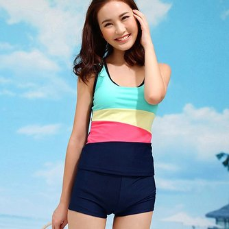 Set Tankini met Shorts