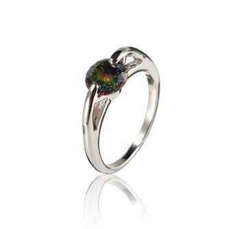 Ring Voor Vrouwen Met Rhinestone
