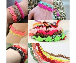 Gekleurde armband in verschillende motieven