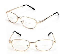 Metalen Leesbril In Verschillende Sterktes