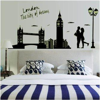 Lichtgevende Sticker Londen
