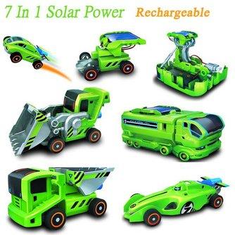 7 in 1 Oplaadbaar Zonne-Energie Speelgoed