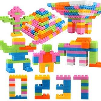 Plastic Bouwblokken voor Kinderen 96 Stuks