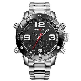 Weide Waterdicht Horloge voor Mannen