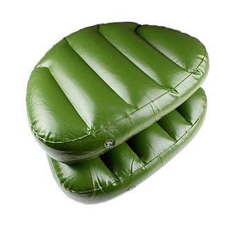 Opblaasbaar Zitkussen in de Kleur Groen