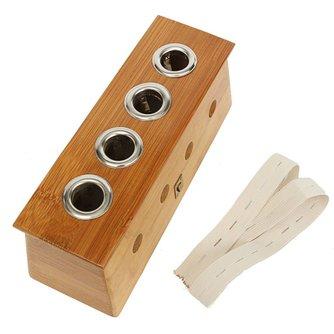 Moxa Box Voor Moxa Sticks Van Bamboo