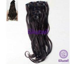 Bruine Hairextensions (7 Stuks)