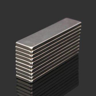 N52 Langwerpige Neodymium Magneet 10 Stuks