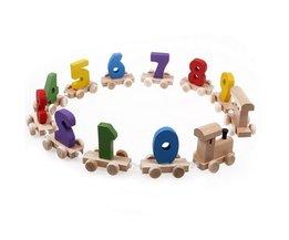 Houten Speelgoedtrein voor Kinderen