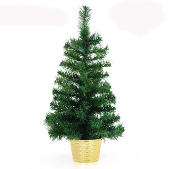 Klein Kunstkerstboompje van PVC-Materiaal 30CM