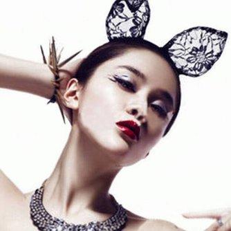 Kanten Kattenoren Haarband