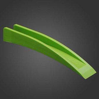 Groene koevoet om deursloten open te maken.