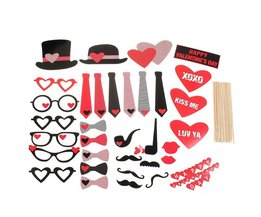 Valentijns Versiering Maskers & Stickers