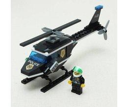 Helikopter Bouwpakket met Blokken