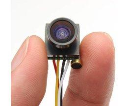 Minicamera Groothoek Lens PAL & NTSC