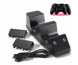 Oplaadset Voor 2 Xbox One Controllers