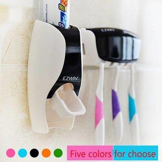 Dispenser Tandpasta Tandenborstelhouder Set