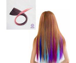 Gekleurde Haar Extensions Clip