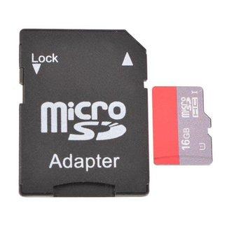 Micro SD Kaart Met Adapter 16G