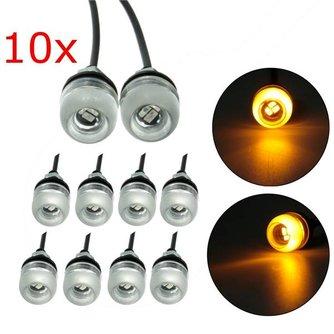 Geel LED Licht Voor Motoren