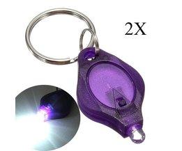 LED Lampje Met Sleutelhanger